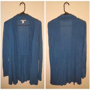WHBM Blue Cardigan Size XS